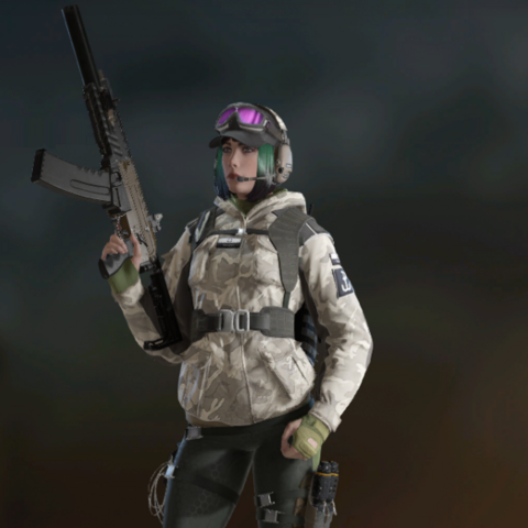 Ela armed with FO-12 (Post-Blood Orchid)