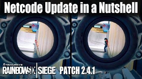 Netcode Update in a Nutshell- Rainbow Six - Siege