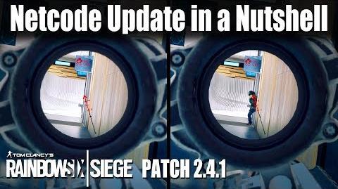 Netcode Update in a Nutshell- Rainbow Six - Siege