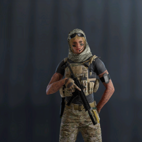 Valkyrie armed with <a href=