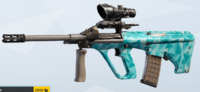 Ice AUG A2 Skin