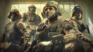 Jäger, Blitz, IQ and Bandit in the Kommando Bundle