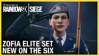 Rainbow Six Siege Zofia Elite Set - New on the Six Ubisoft NA