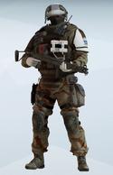 Doc Saharan Courage Uniform