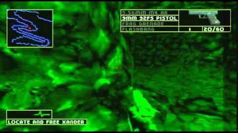 Rainbow Six- Lone Wolf PS1 Gameplay Mission 3 - Operation Rapid Fox