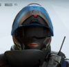 Rook Biker Blues Headgear