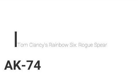 AK-74/Rogue Spear