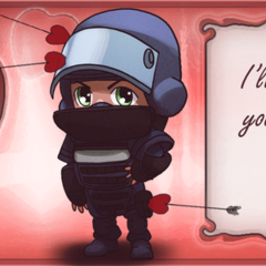 Official Valentine's Day art of Rook