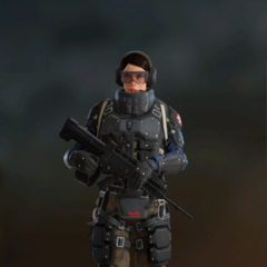Ying armed with T-95 LSW (Post-Blood Orchid)