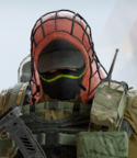 Kapkan Blood Orange Headgear