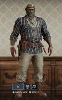 Kaid Plaid Style Uniform