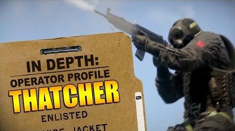 Rainbow Six Siege - Operator Profile THATCHER