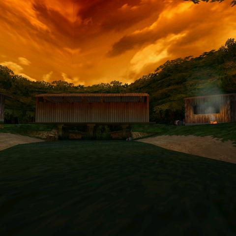 Nigerian jungle-camp