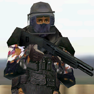 ---Street Heavy Suit--- <br />This bulky uniform sacrifices ease of movement for increased protection. An excellent choice for demolitions specialists operating in urban environments, it consists of Level III body armor extending to the groin, a Kevlar Helmet with full faceplate, soft-soiled rubber boots, Nomex balaclava, and Nomex/Kevlar gloves. The vest reliably stops all but most high-powered rifle rounds.