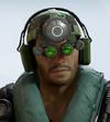 Jackal Infrared Goggles Headgear