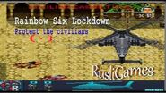 Rainbow Six Lockdown mission 2 Protect the civilians Java game RusliGames