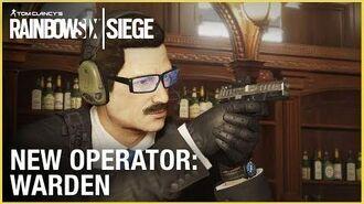 Rainbow Six Siege Operation Phantom Sight - Warden Trailer Ubisoft NA