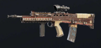 Baroque Exalted L85A2 Skin