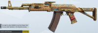 Henna Varnish AK74M Skin