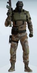 Vigil Sand Shroud Uniform