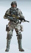 Zofia Arctic Moss Uniform