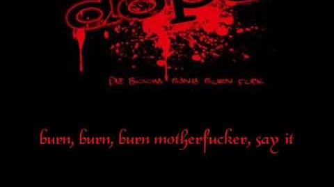 Dope - Die, Boom, Bang, Burn, Fuck with lyrics