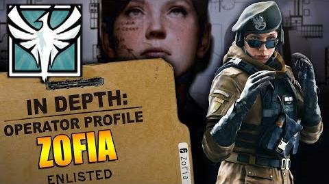 Rainbow Six Siege - Operator Profile ZOFIA