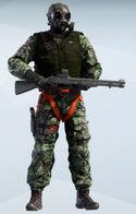 Thatcher S.A.S. Dark Woodland Uniform