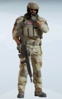 Blackbeard Sandroot Uniform