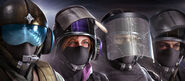 104.Jäger, IQ, Blitz and Bandit in the BPM Headgear Bundle