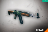 Guerrilla Weapon Skin Reward
