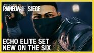 Rainbow Six Siege Echo Elite Set - New on the Six Ubisoft NA