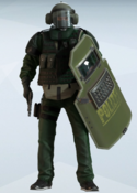 Blitz Federal Guard Uniform