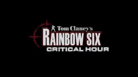 Tom Clancy's Rainbow Six Critical Hour Trailer