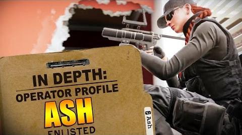 Rainbow Six Siege - Operator Profile ASH