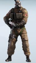 Sledge S.A.S. Chemical Warfare Uniform