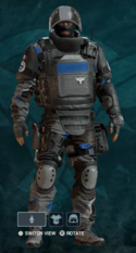Rook Nighthaven Prototype Uniform