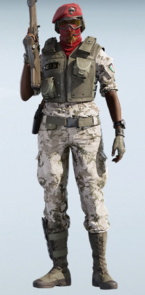 Alibi Creeping Chill Uniform
