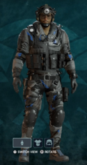 Jackal Nighthaven Prototype Uniform