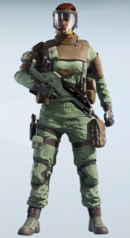 Finka Chemical Threat Uniform