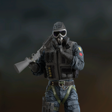 Mute armed with <a href=