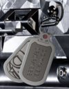 Dokkaebi Dog Tag Charm