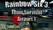"Rainbow Six 3 Team Survival on ""Airport 1"" Original Xbox Game Night"