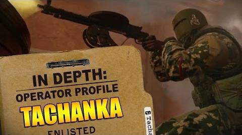 Rainbow Six Siege - Operator Profile TACHANKA