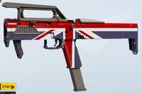Union Jack FMG-9 Skin