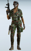 Caveira Bloodwood Uniform