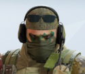 Glaz Leaf Litter Camo Headgear