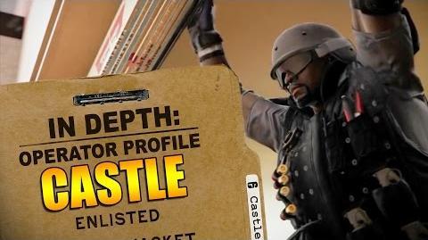 Rainbow Six Siege - Operator Profile CASTLE