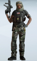 Valkyrie Lawless Uniform