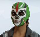 Caveira Lucha Headgear